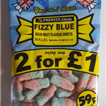 FIZZY BLUE BOTTLES