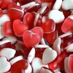 GUMMY or FIZZY HEART THROBS (7 varieties to choose from)