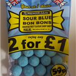 SOUR BLUERASPBERRY BON BONS