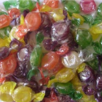 FRUIT FLAVOUR WRAPPED BOILED SWEETS