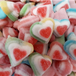 FIZZY FRUITY 3D LOVEHEARTS (2 varieties to choose from)