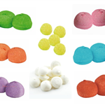 MALLOWS FRUIT FLAVOUR SOFT PAINT BALLS exclusive product