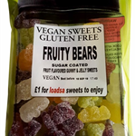 VEGAN SUGAR COATED FRUITY SWEETS