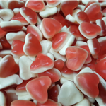 LOVEHEARTS choice of gummy and fizzy
