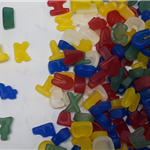 ALPHABET LETTERS & NUMBERS gummy & fizzy