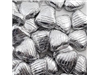 silver paper chocolate hearts