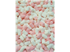 tiny pink & white mallows