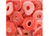 mini fizzy strawberry rings