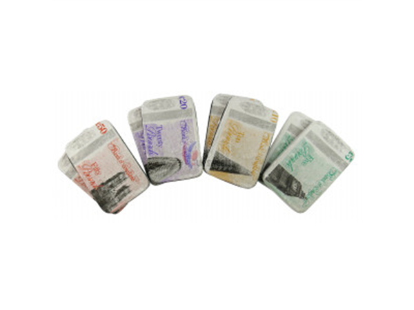 chocolate bank notes