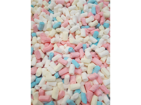 tiny multi colour mallows