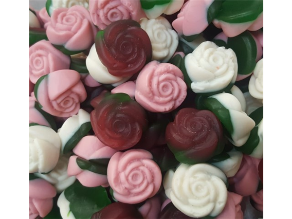 gummy flower rose
