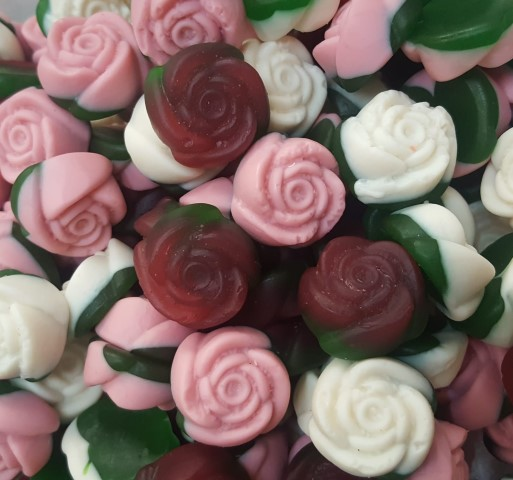 GUMMY or FIZZY FLOWER ROSE