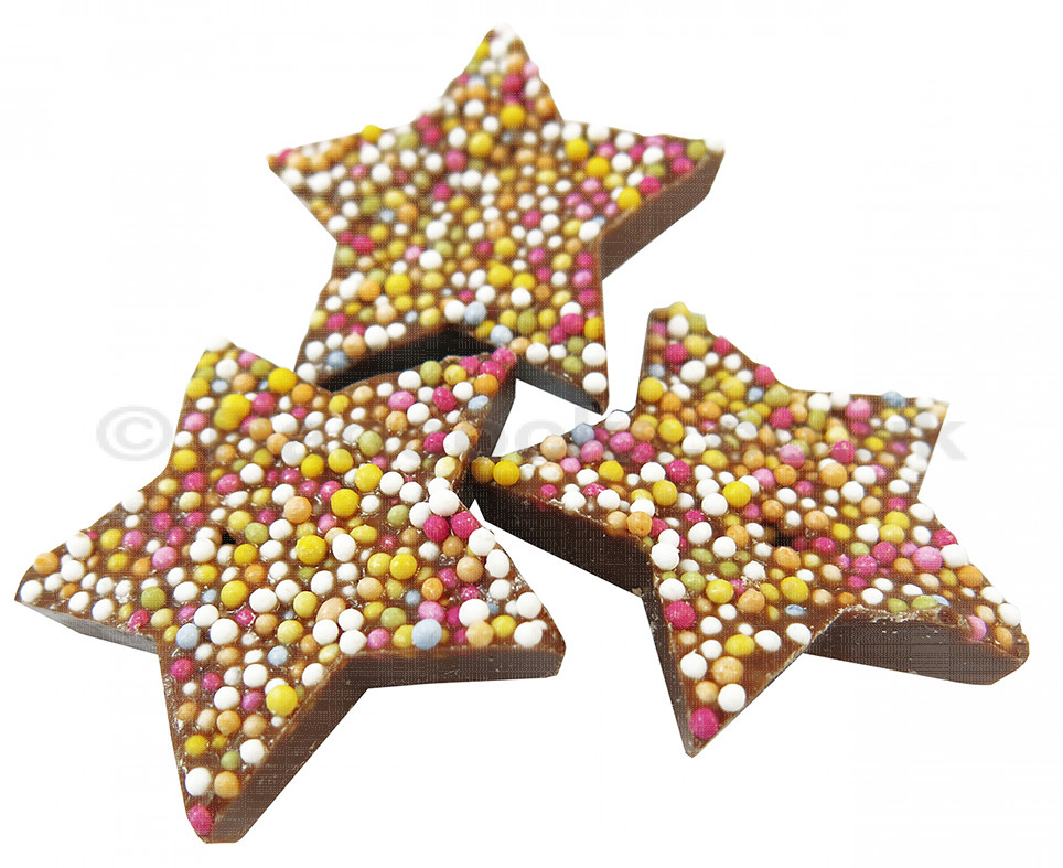 star shape jazzles (brown)